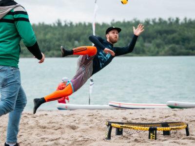 Spikeball Turnier Leipzig – Paulaner Beach Days 2018
