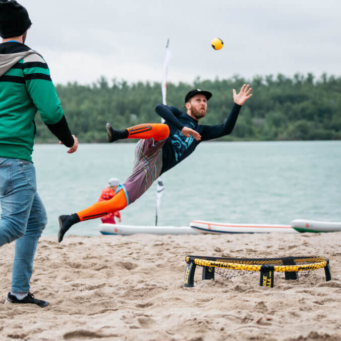 Spikeball Turnier Leipzig - Paulaner Beach Days 2018