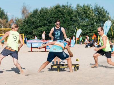 Spikeball Turnier Haltern am See – Paulaner Beach Days 2018