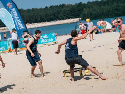 Spikeball Turnier in Hamburg – Paulaner Beach Days 2018