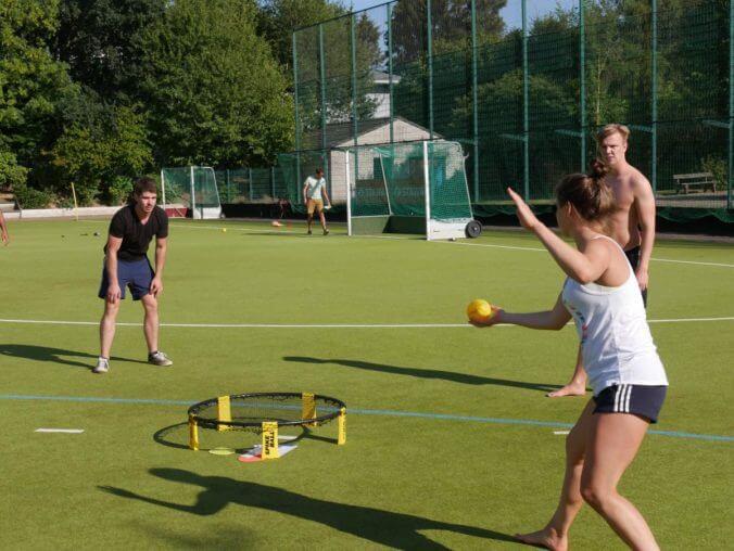 Ergebnisse vom 1. Aachener Spikeball Open
