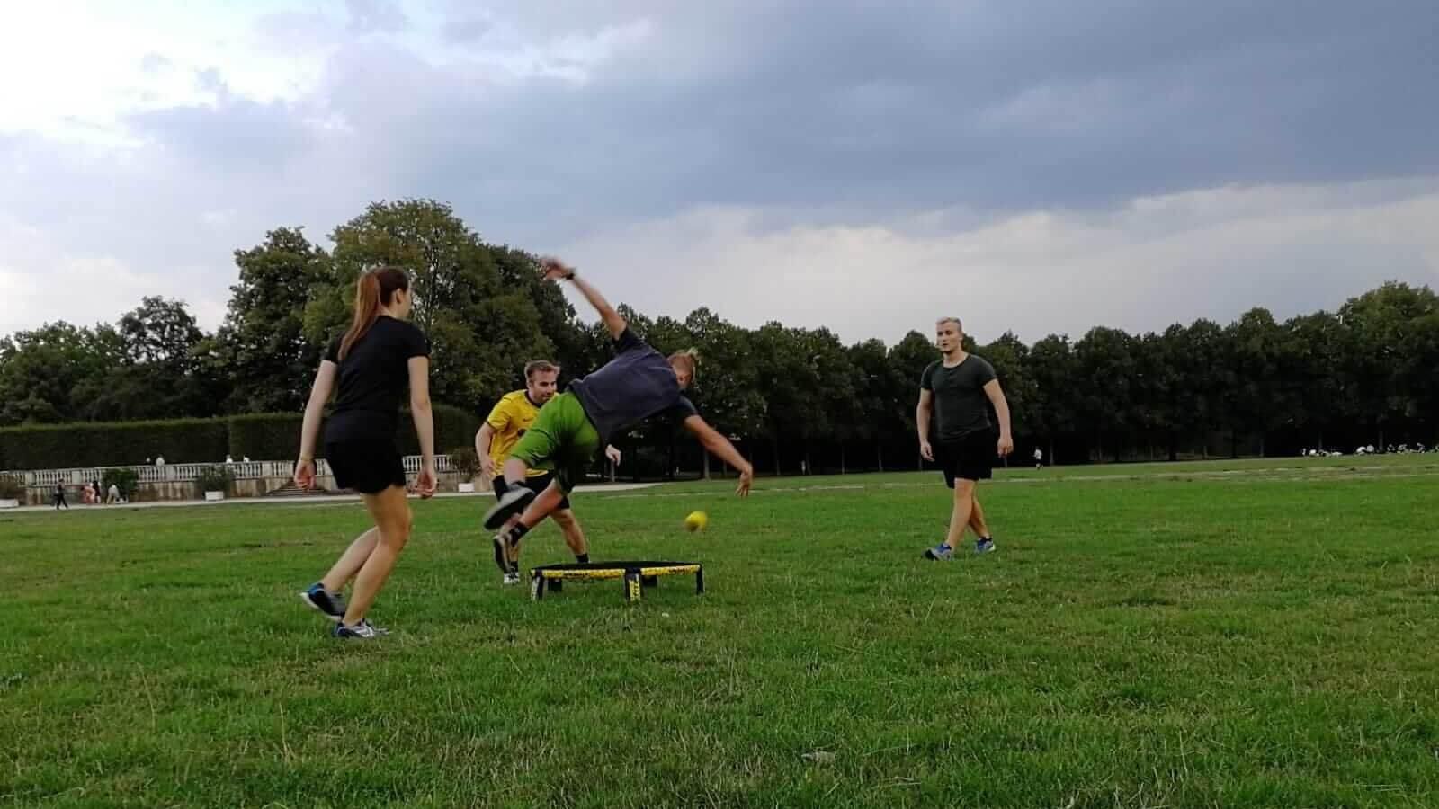 Spikeball Turnier am Bootshaus in Kassel – 30.9.2018