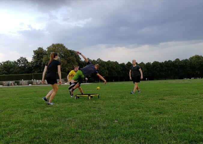 Spikeball Turnier am Bootshaus in Kassel - 30.9.2018