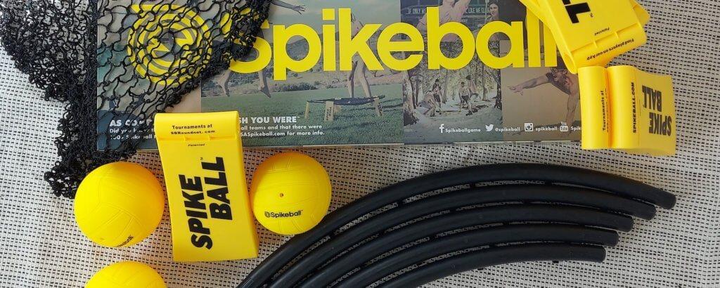 Alle Teile vom Spikeball Standard Set