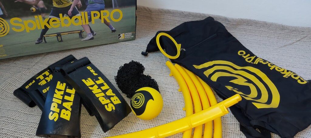 Bestandteile vom Spikeball PRO Set