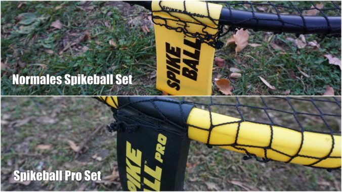 Unterschied Spikeball PRO SET und Spikeball SET