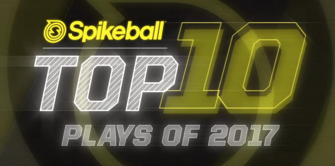 Top 10 Spikeball Plays of 2017 - Video