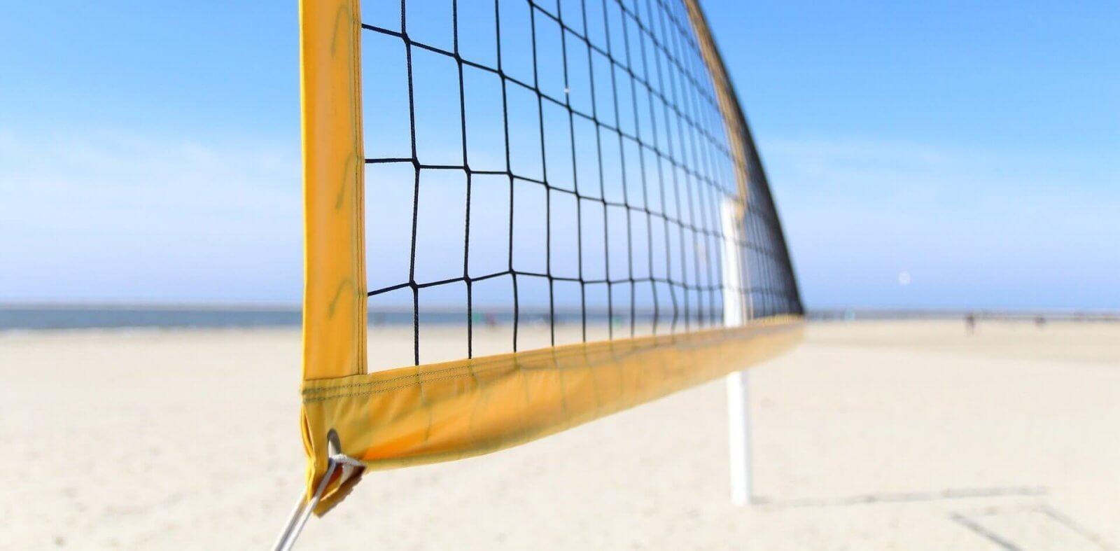 Beachvolleyball Netz