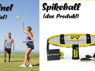 Was ist der Unterschied zwischen Roundnet und Spikeball