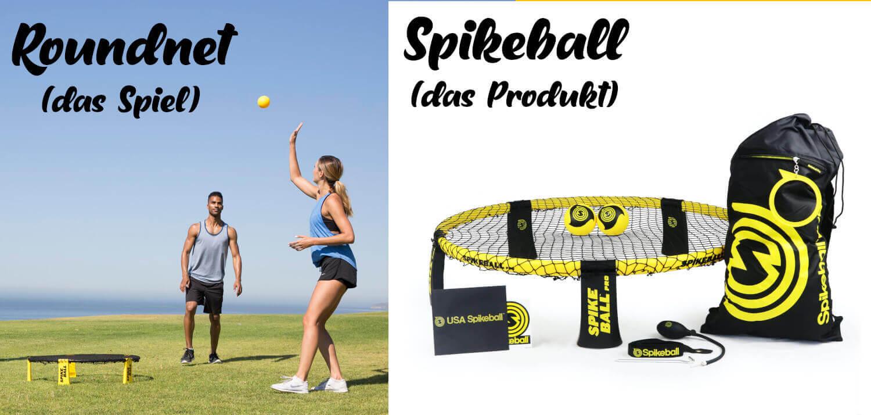 Unterschied Roundnet und Spikeball