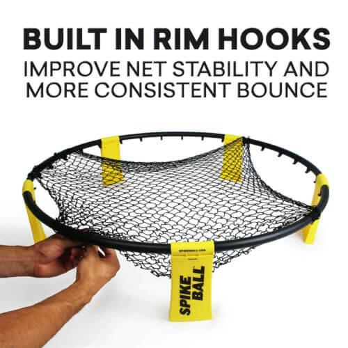 Einsetzen vom Netz im Spikeball SEt
