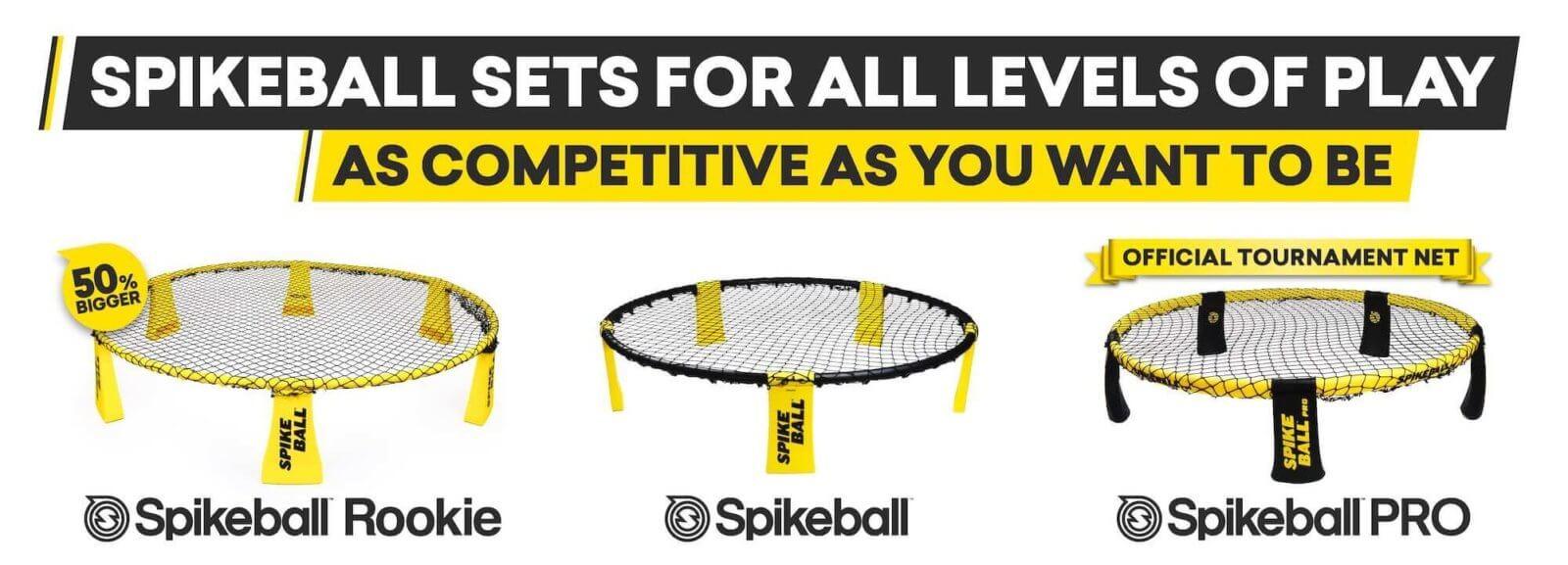 Spikeball Netze im Vergleich