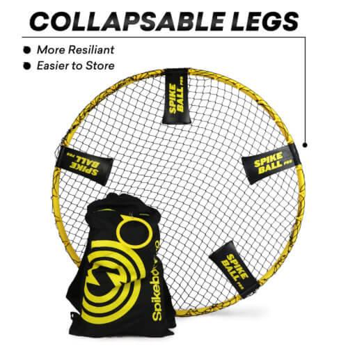 Klappbare Füße vom Spikeball PRO Set