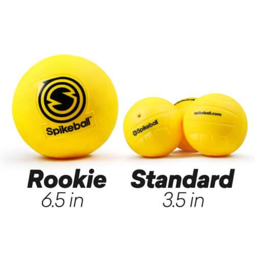 Rookie Ball vs Standard Spikeball