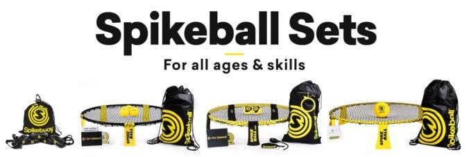 Spikeball Sets für alle Altersgruppen und Fähigkeiten