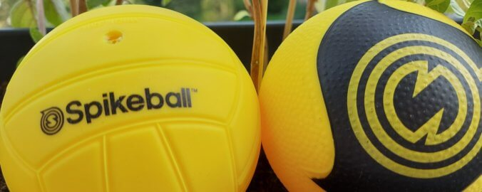Normaler Ball VS PRO Spikeball Ball
