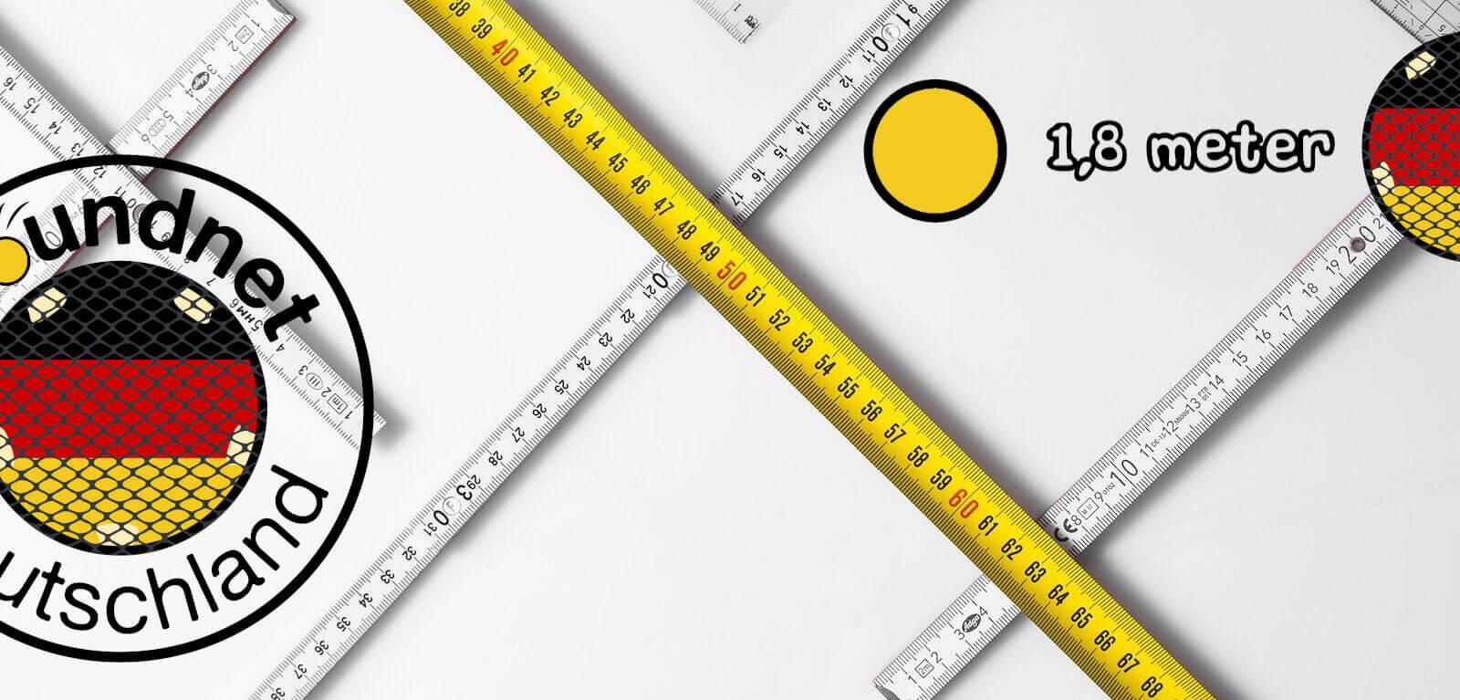 Abstand zum Netz beim Aufschlag – offzielle Spikeball™ Regeln