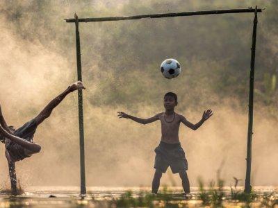 Spikeball als Training für Fußballer