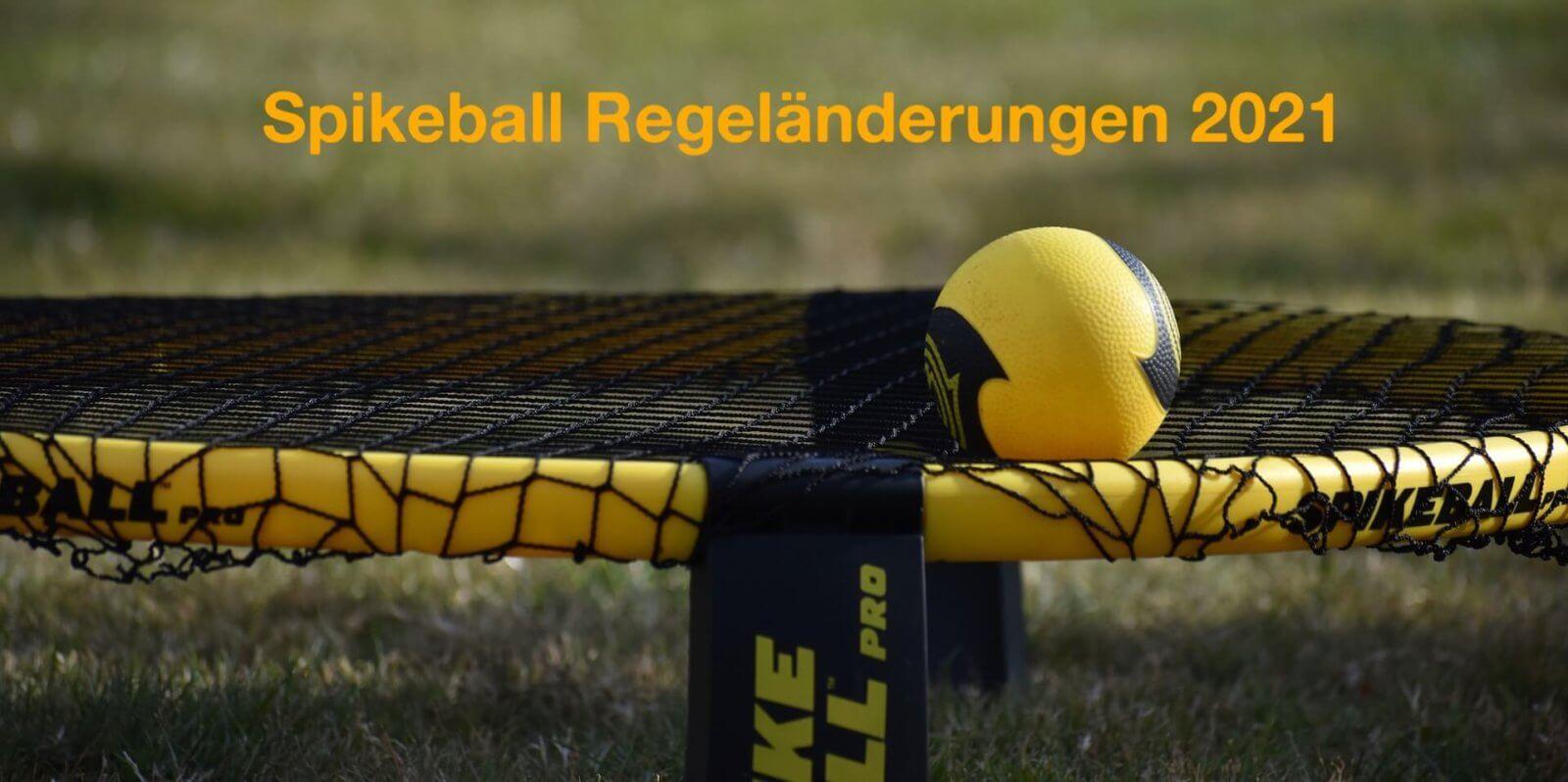 Neue Spikeball Regeln 2021