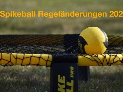 Spikeball Regeländerungen 2021