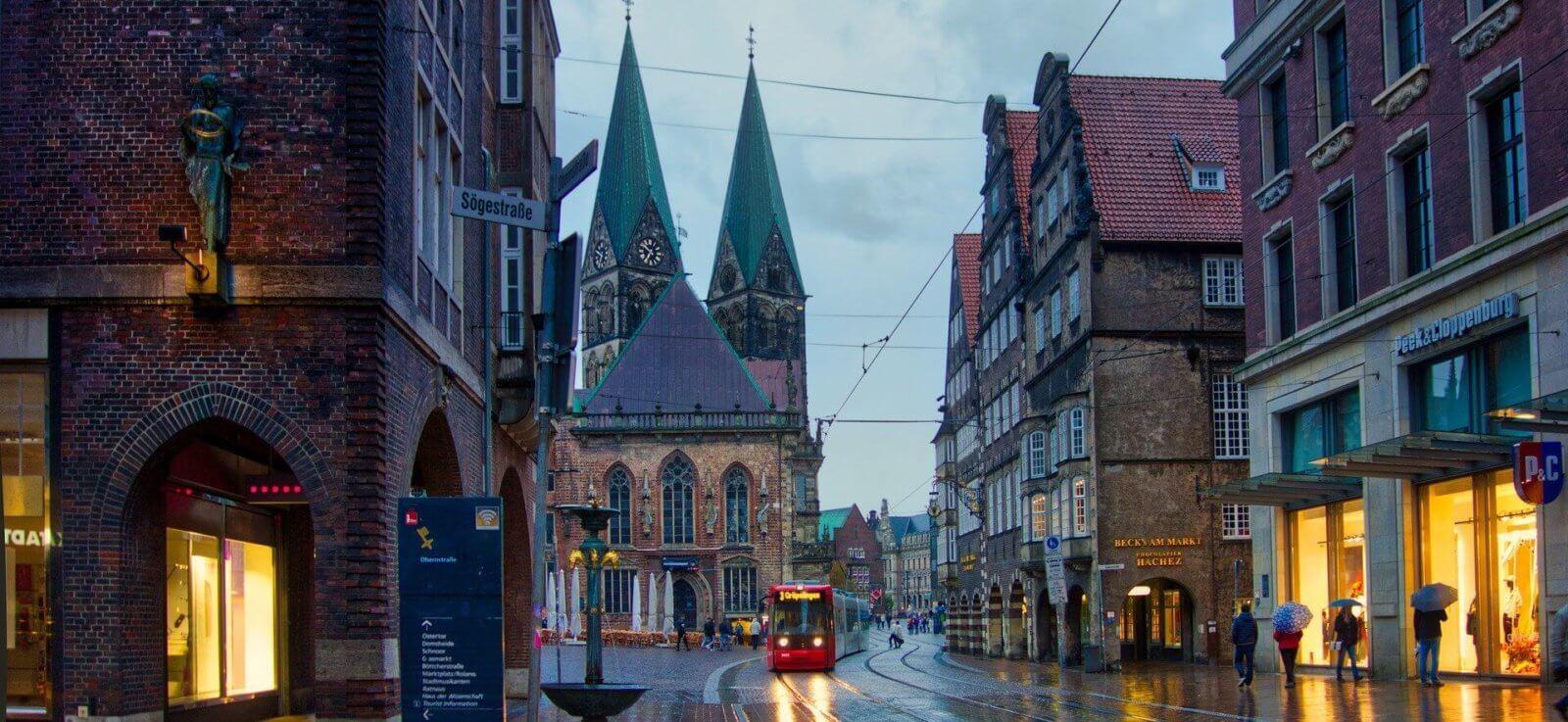 Die Stadt Bremen und der Spikeball Sport