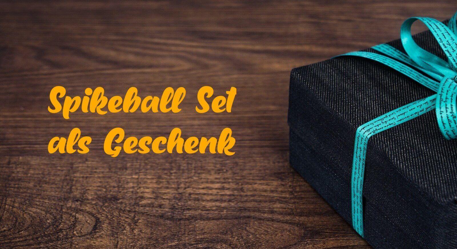 Gesund schenken: Spikeball Set & Roundnet Workshops