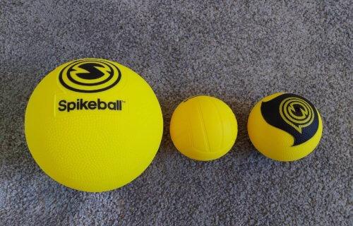 Rookie Ball, Standad Ball, Pro Spikeball